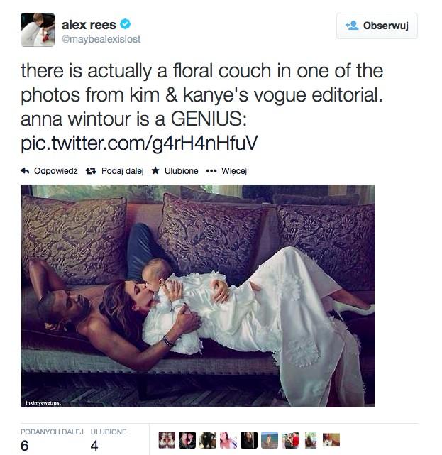 Kim Kardashian pierwszy raz o okładce Vouge'a (VIDEO)