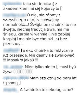 Kinga Rusin ma najbrzydsz� choink� w Warszawie? (Instagram)