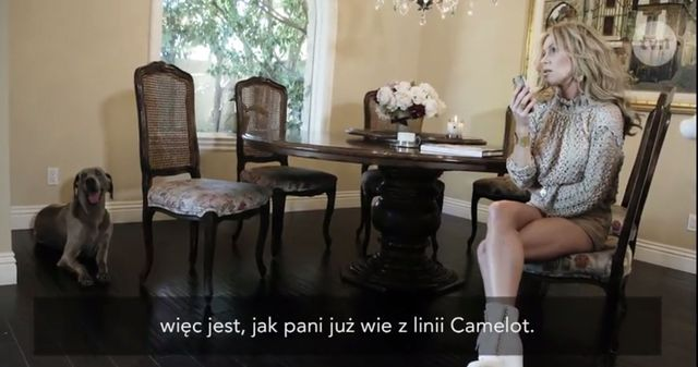 Kinga Korta pobiera nasienie psa przez kamerami (VIDEO)
