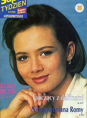 Kinga Rusin 20 lat temu (FOTO)