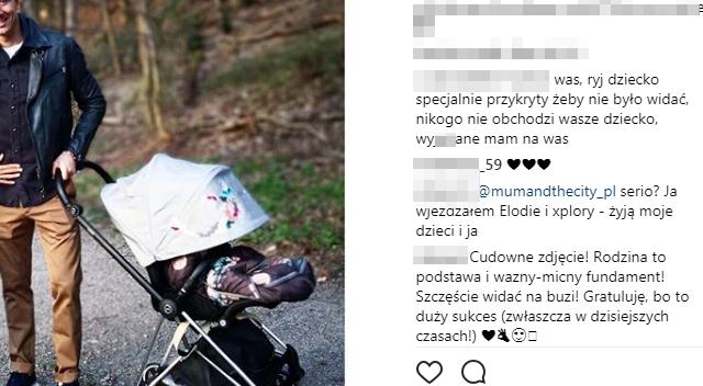 Ania i Robert Lewandowscy na spacerze z córką: Nikogo to nie obchodzi!