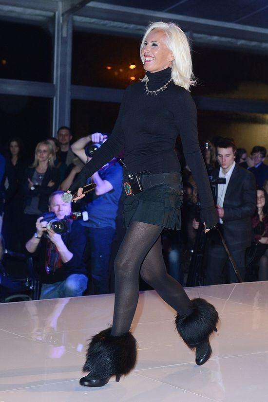 Maciej Musiał - rodzynek na modowej imprezie (FOTO)