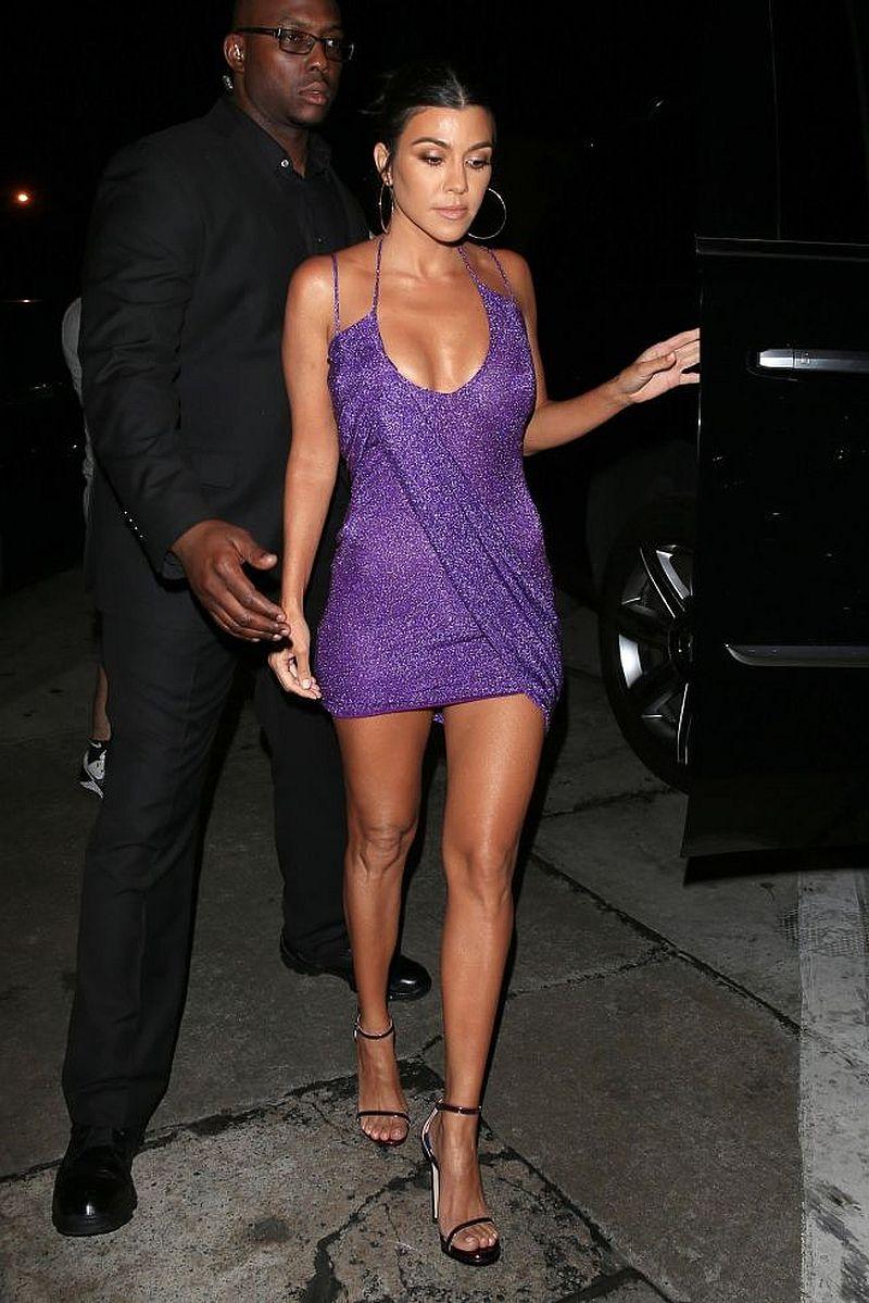 Kourtney Kardashian i Scott Disick RAZEM na urodzinach Kylie