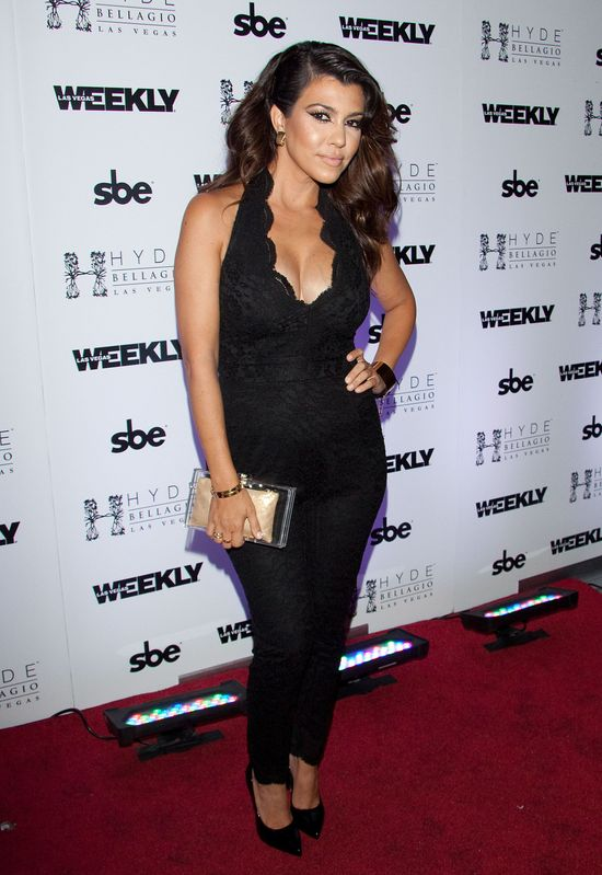 Kourtney Kardashian zarabia w Las Vegas (FOTO)