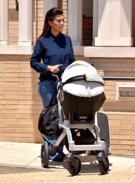Kourtney Kardashian jest ciąży? (FOTO)