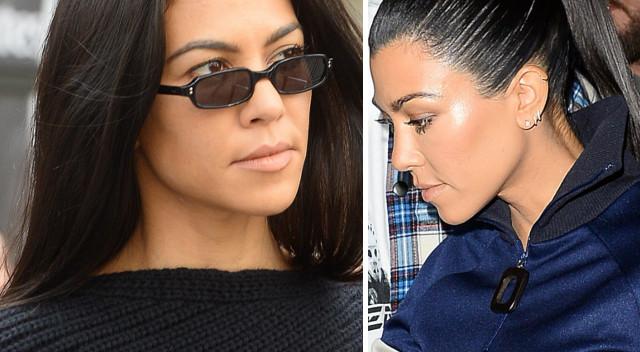 Kourtney Kardashian już tak nie wygląda: ŚCIĘŁA WŁOSY (Instagram)