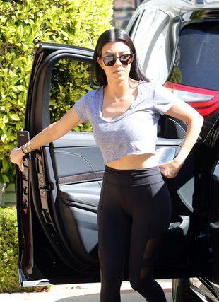 Kourtney Kardashian zabrała Penelope i Reigna na zajęcia