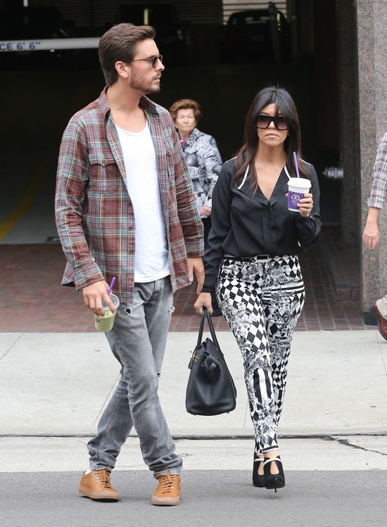 Kourtney Kardashian i Scott Discik zabrali kamery na terapi�