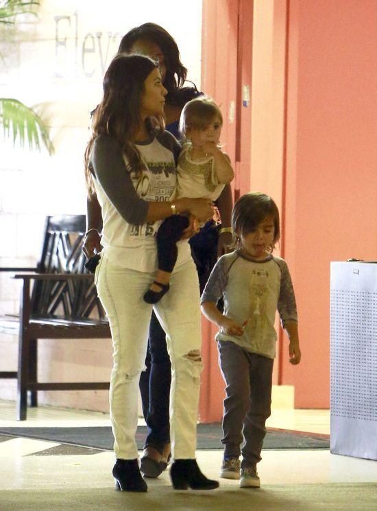 Kourtney Kardashian nie pójdzie z dziećmi do lekarza bez...