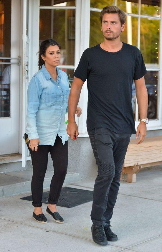 Zamiast błyszczeć na salonach, Kourtney Kardashian wolała...