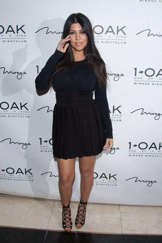 Ile waży Kourtney Kardashian?