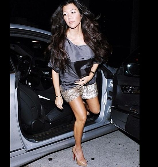 Kourtney Kardashian w trzeciej ciąży?