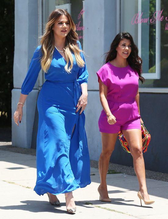 Kardashianki pracują w pocie czoła! (FOTO)