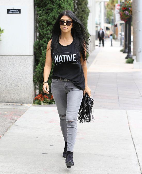 Ile Kourtney Kardashian schudła na diecie złamanego serca?