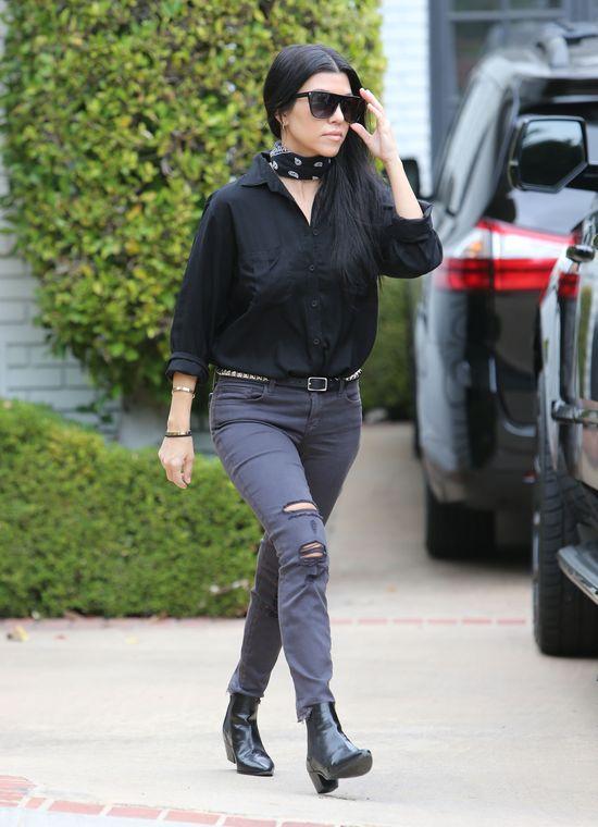 Kourtney Kardashian zostawiła u Justina Biebera STANIK!