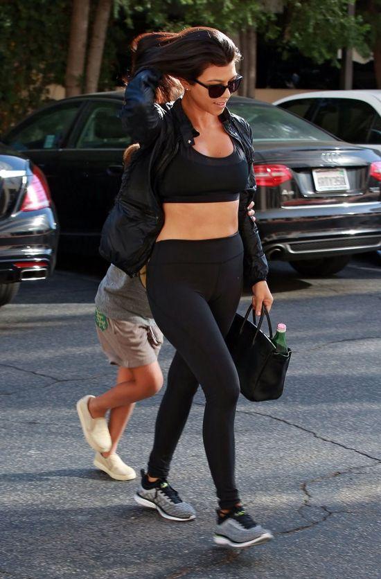 Kourtney Kardashian powiedziała NIE cyrkowi, który zgotowała rodzinie Kim