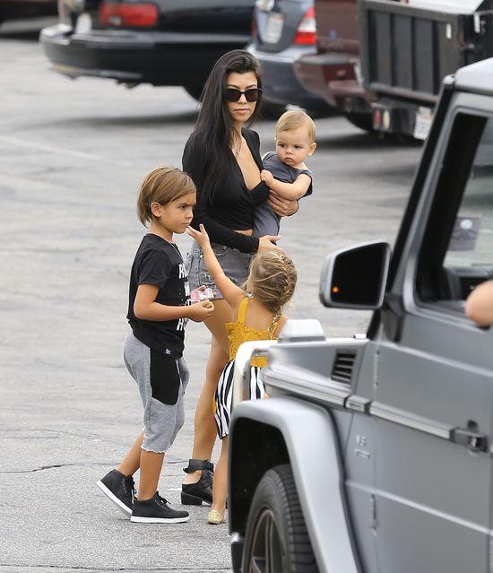 To nie był zwykły dzień w rodzinie Kardashianów (FOTO)