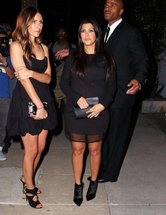 Niania dzieci Kourtney Kardashian pierze rodzinne brudy