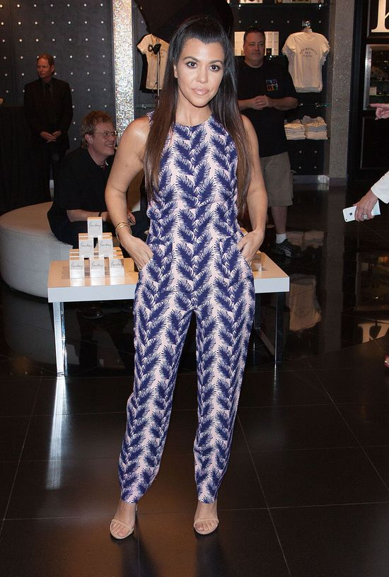 Kourtney Kardashian w Las Vegas - wygląda na zmęczoną?