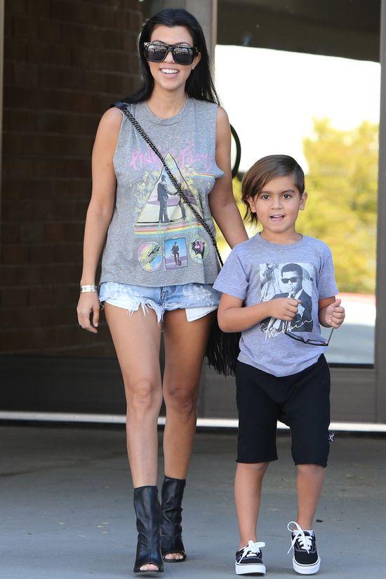 Gdy Scott lansuje się z młodą modelką, Kourtney Kardashian