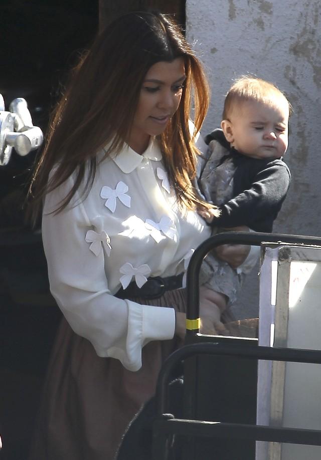 C�reczka Kourtney Kardashian ro�nie - �adna? (FOTO)