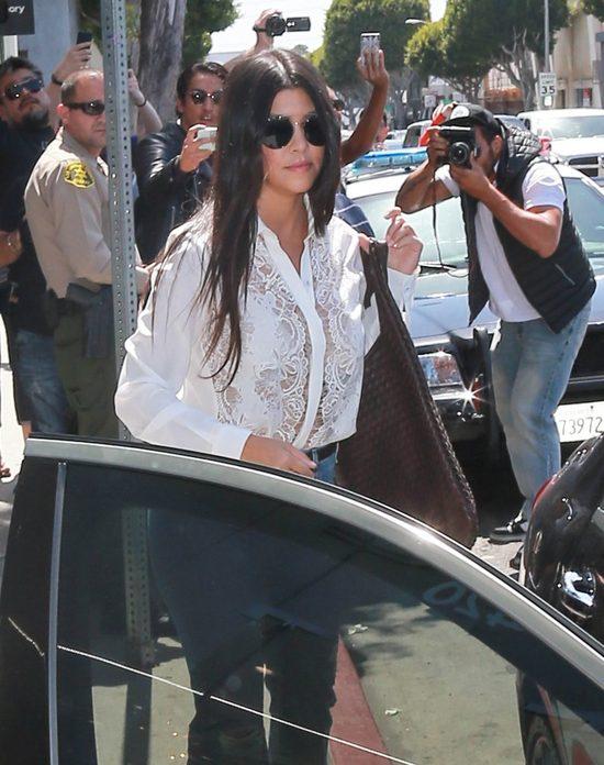 Synek Kourtney Kardashian ju� �amie serca (Instagram)