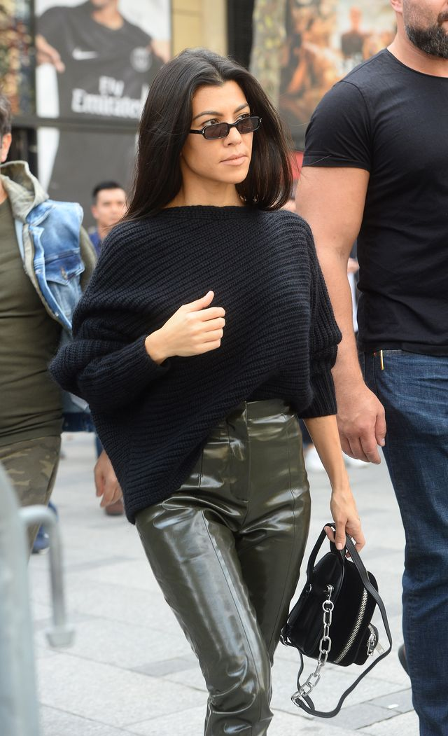 Kourtney Kardashian ŚCIĘŁA WŁOSY (Instagram)