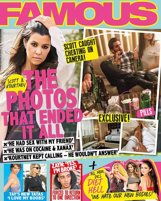 Te zdjęcia zakończą związek Scotta Disickia i Kourtney?