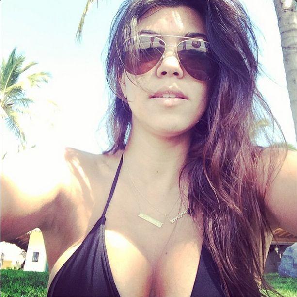 Kourtney Kardashian tym razem powinna posłuchać Kim? (FOTO)