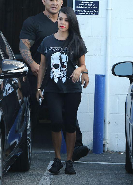 Kiedy Kourtney Kardashian zrezygnuje ze szpilek... (FOTO)