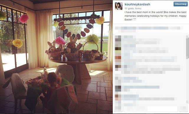 Kardashianowie przygotowują się do Wielkanocy (FOTO)