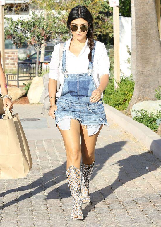 Ciężarna Kourtney Kardashian zmienia taktykę (FOTO)