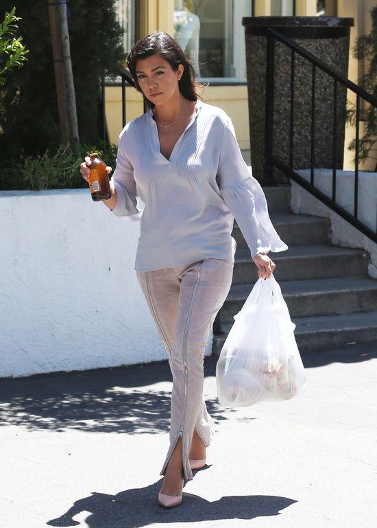 Dzieci Kourtney Kardashian nie wiedzą,co to domowe jedzenie?