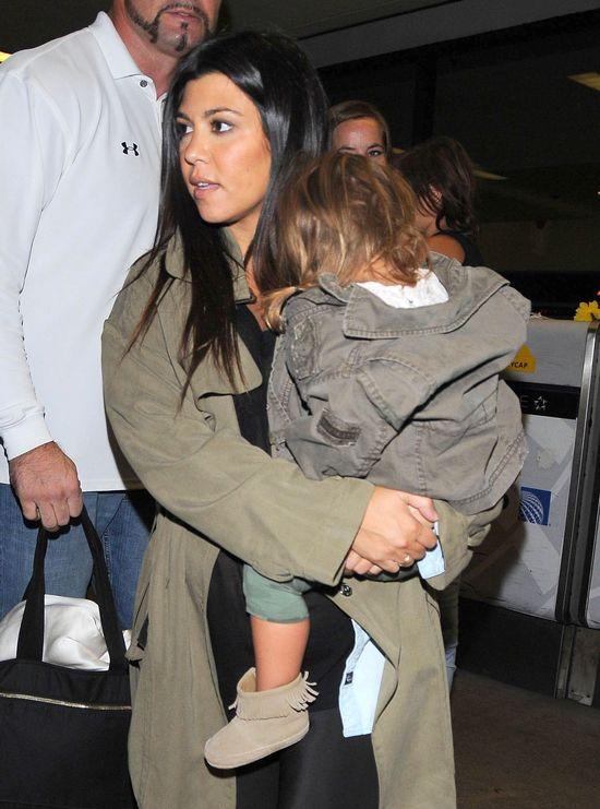 Ciężarna Kourtney Kardashian musi być silną kobietą (FOTO)