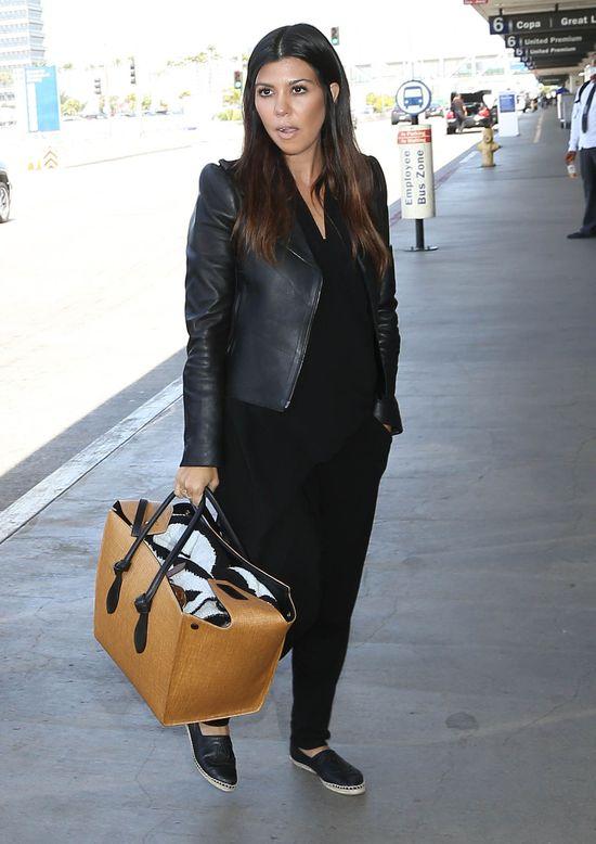 Kourtney Kardashian te� miewa gorsze dni (FOTO)
