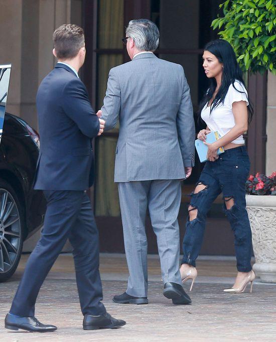 Kourtney Kardashian pokazuje Disickowi,co stracił (FOTO)