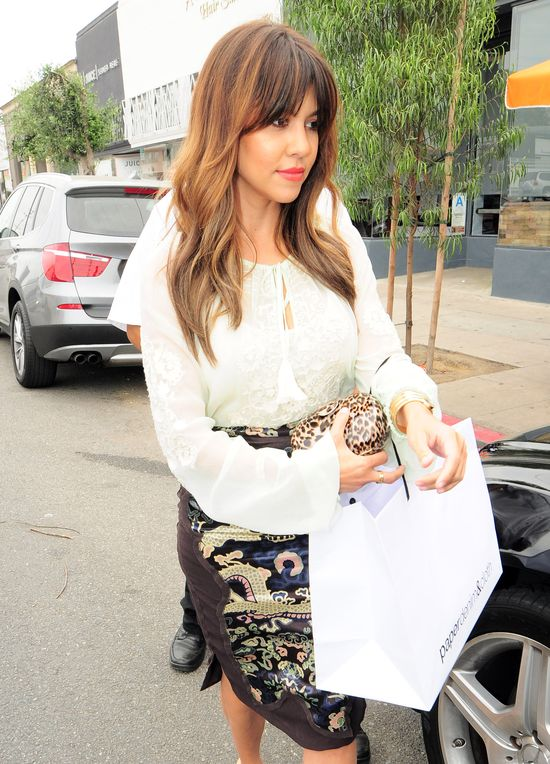 Kourtney Kardashian zmienia styl?