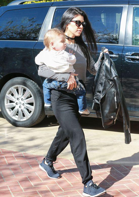 Kourtney Kardashian robi TO z synkiem codziennie (FOTO)