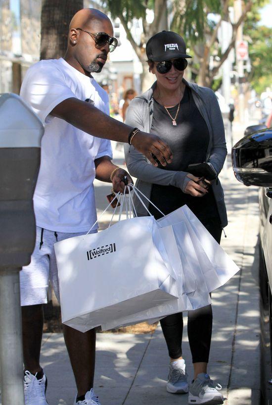 Mama pomaga Kourtney Kardashian w opiece nad dziećmi (FOTO)