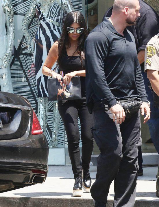Kourtney Kardashian schudła 16 kilo, bo popijała herbatkę