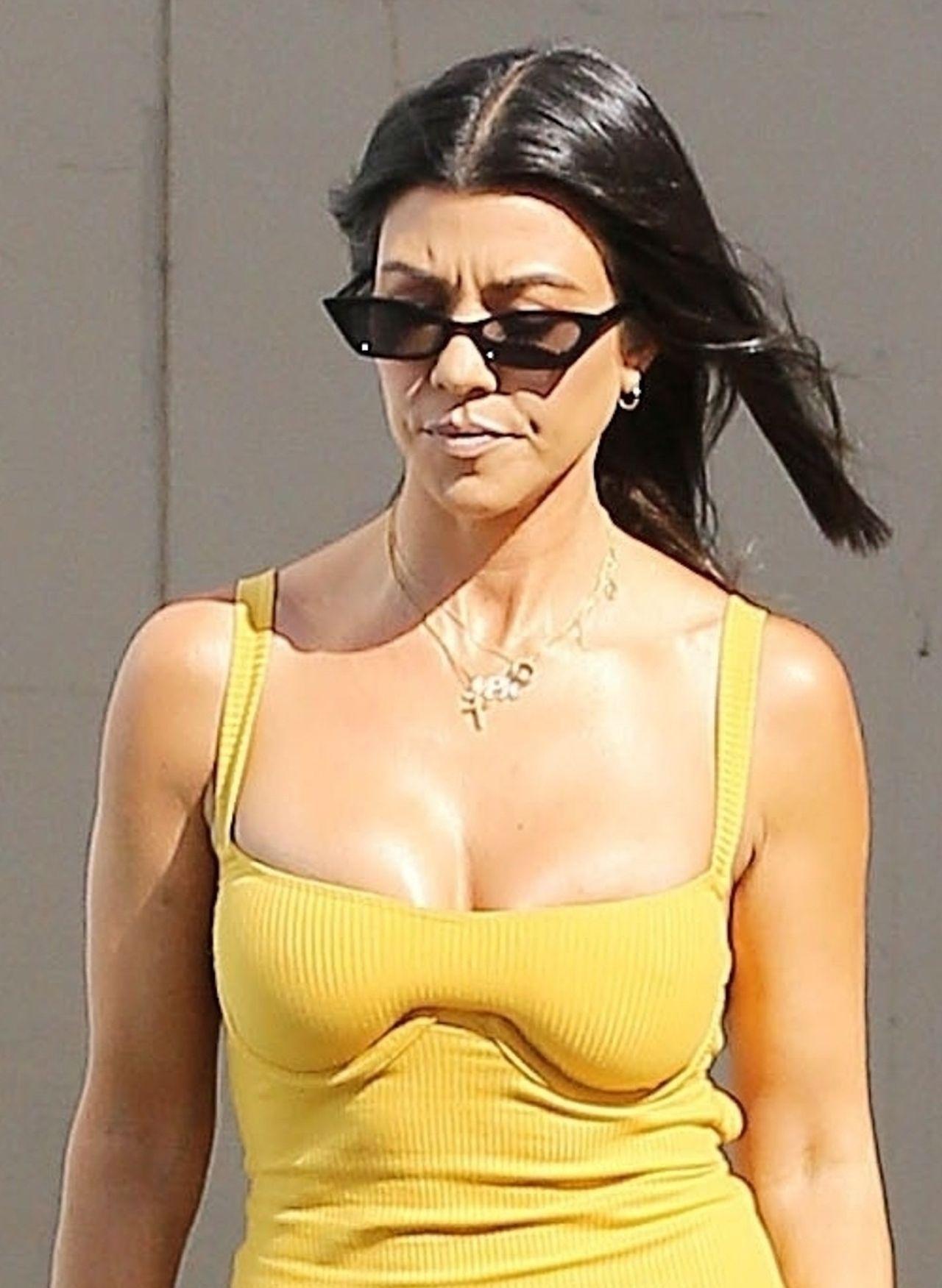 Kourtney Kardashian zabrała GŁOS w sprawie płaczącej Sofii Richie