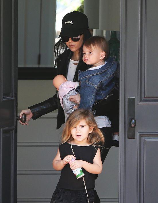 Kourtney Kardashian wygląda niesamowicie w tym stroju