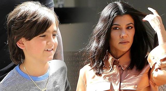 HEJT na Kourtney Kardashian za to, do czego ZMUSIŁA swojego syna Masona