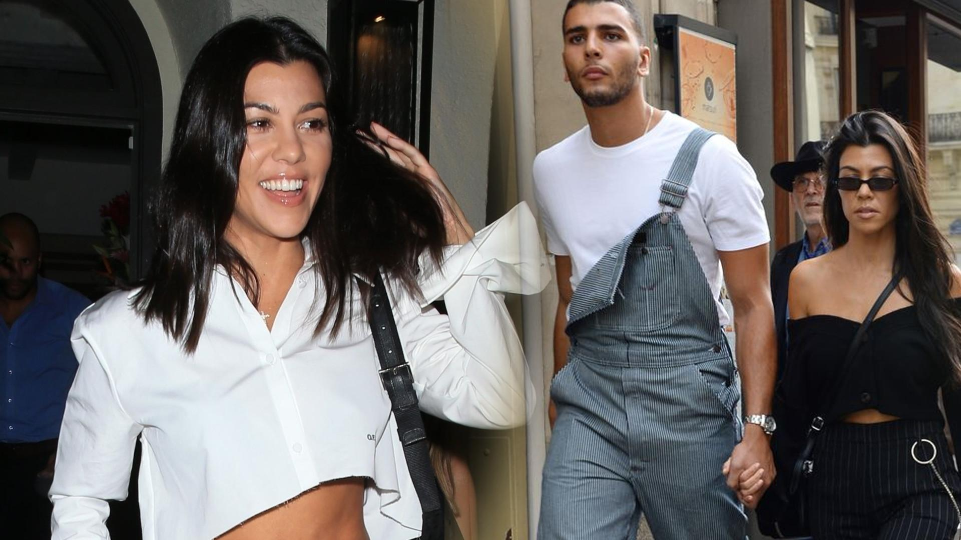 Oszukała wszystkich! Kourtney Kardashian wciąż SPOTYKA się z Younesem