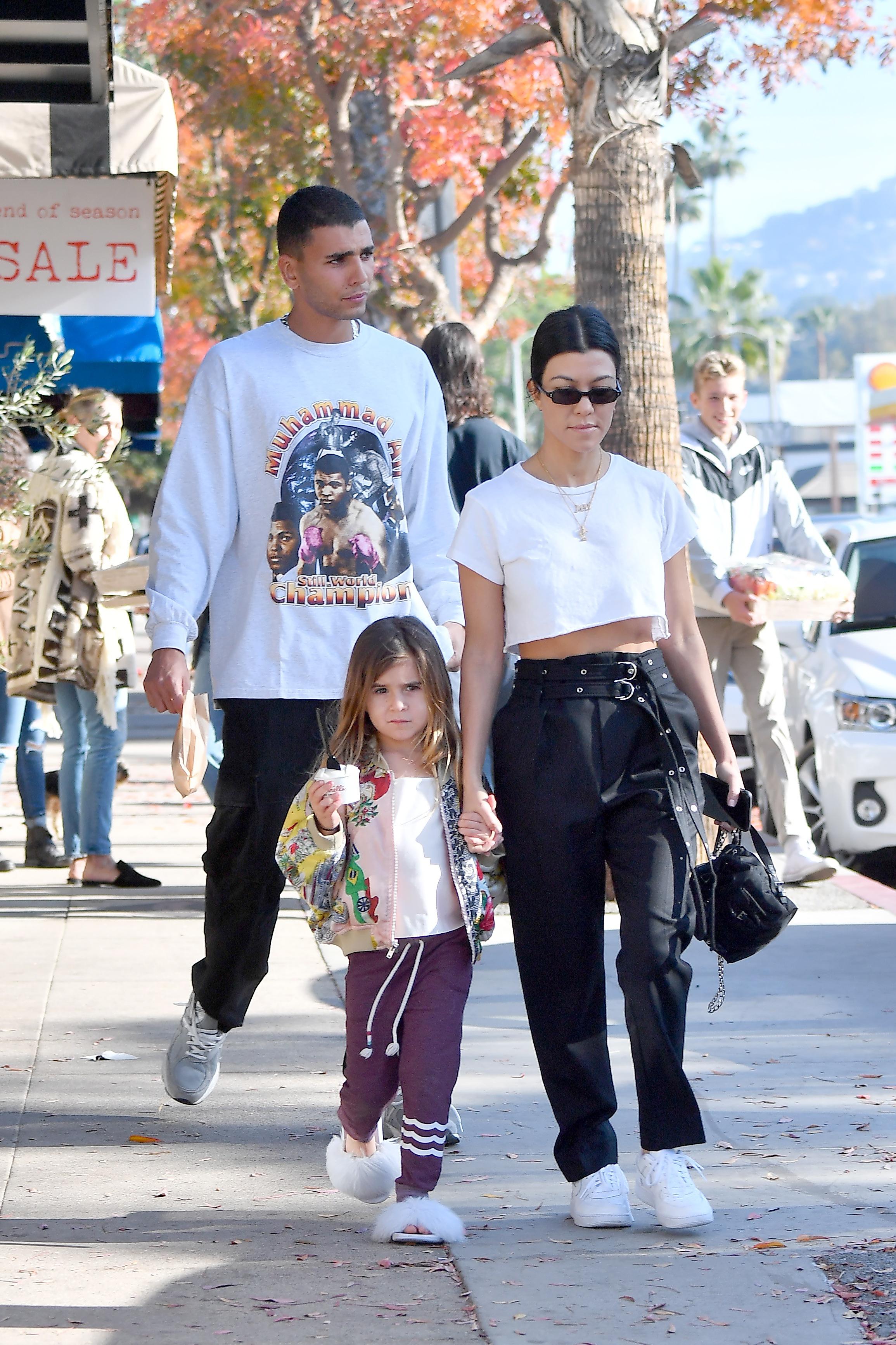 Kourtney Kardashian mówi o CIĄŻY z Younesem