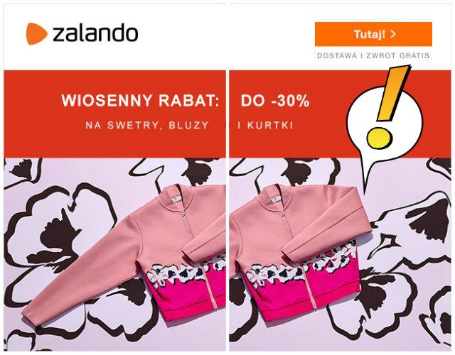 Wiosenny rabat do -30% na swetry, bluzy i kurtki (oferta tylko dla kobiet)