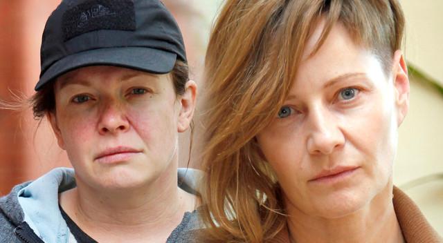 Kożuchowska i Widawska bez makijażu oraz stylizacji – aktorki na planie u Vegi