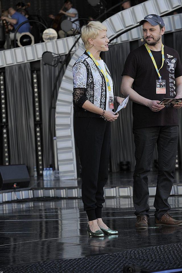 Ciężarna Małgorzata Kożuchowska w Opolu (FOTO)