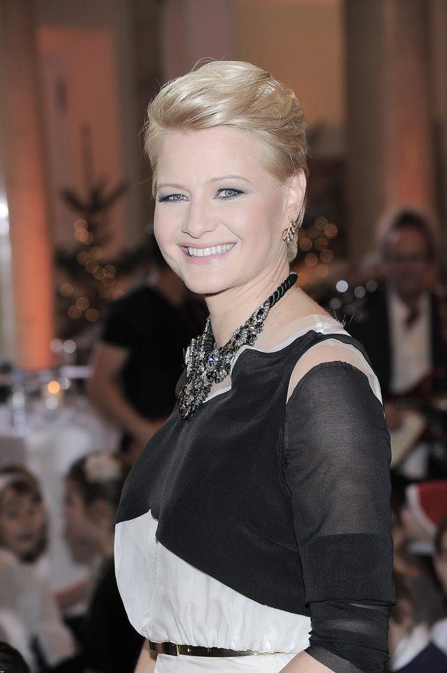 Małgorzata Kożuchowska kolęduje u prezydenta (FOTO)