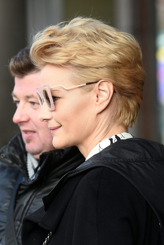 Ma�gorzata Ko�uchowska ju� poczu�a wiosn� (FOTO)